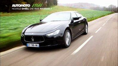 Essai vidéo : la nouvelle Maserati Ghibli 2013