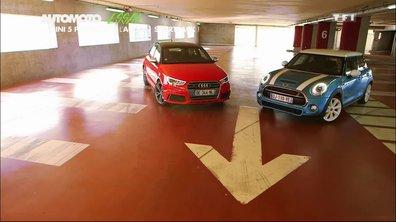 Essai Vidéo : MINI 5 portes, meilleure que l'Audi l'A1 Sportback ?