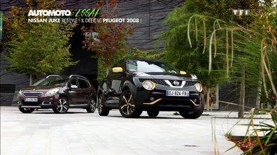 Essai Vidéo : Le Nissan Juke restylé défie le Peugeot 2008