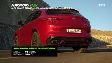 Essai : Alfa Romeo Stelvio, est-il à la hauteur de la légende ?