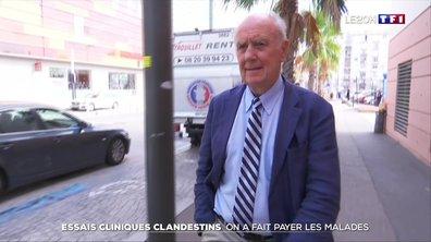 Essais cliniques clandestins : les organisateurs réclamaient un don de 1 000 euros aux patients
