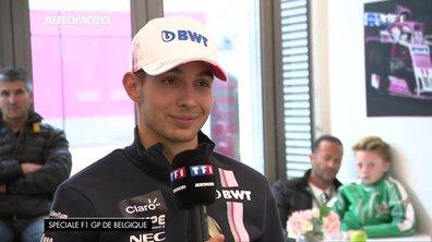 "Grand Prix de Belgique - Esteban Ocon : ""Un truc de fou !"""