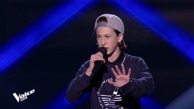 The Voice Kids 6 - Esteban, le rappeur toulonnais reprend un titre de Nekfeu (REPLAY)