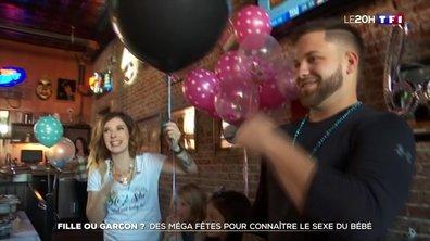 États-Unis : des méga fêtes pour connaître le sexe du bébé
