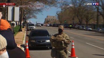 États-Unis : deux policiers heurtés par une voiture devant le Capitole