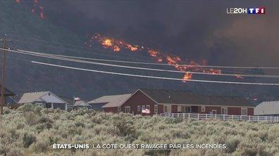 États-Unis : la côte ouest ravagée par les flammes
