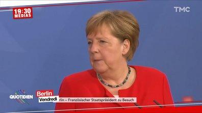 EURO 2020 : le tacle d'Angela Merkel sur le nombre de supporters dans les stades hongrois