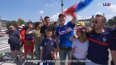 Euro : avec les supporters des Bleus à Budapest