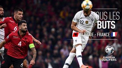 Albanie - France : Voir tous les buts du match en vidéo