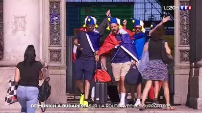 Euro : le parcours du combattant des supporters français pour se rendre en Hongrie