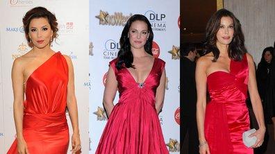 Katherine Heigl, Eva Longoria et Teri Hatcher : toutes fans de la robe rouge !