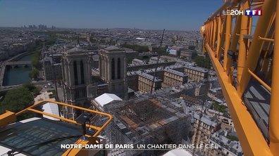 Évacuation de l'échafaudage de Notre-Dame de Paris : un chantier dans le ciel