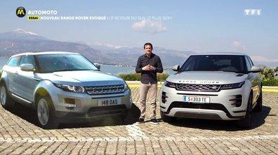 Nouveau Range Rover Evoque : Le retour du SUV le plus sexy