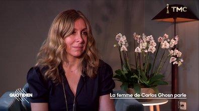 EXCLU : arrestation, mariage à Versailles, procès… l'épouse de Carlos Ghosn livre sa version
