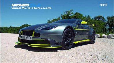 Exclu : l'Aston Martin Vantage GT8 sur circuit