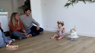 Séance photo pour l'anniversaire d'Alba