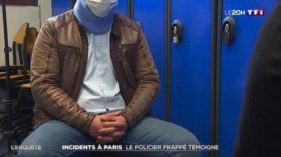 Exclusif : le témoignage du policier passé à tabac en marge de la manifestation parisienne