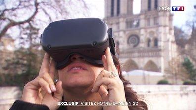 Exclusif : visitez Notre-Dame... en 3D !