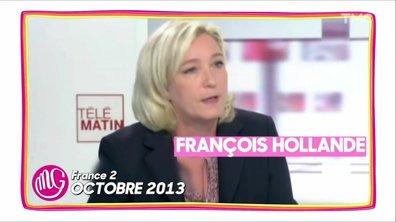 """Exiger des """"démissions"""" : un vieux réflexe chez les Le Pen père et fille"""