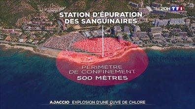 Explosion d'une cuve de chlore à Ajaccio : retour sur les faits