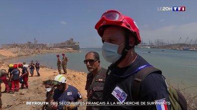 Explosions à Beyrouth : des secouristes français à la recherche de survivants