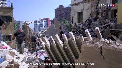 Explosions à Beyrouth : la ville dévastée