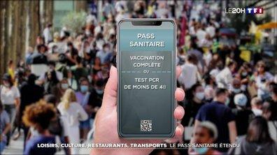 Extension du pass sanitaire : les nouvelles règles