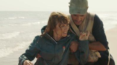 Valérié s'est échouée sur une plage !