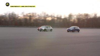Ford Fiesta ST, Mini JCW, Polo GTI : le verdict