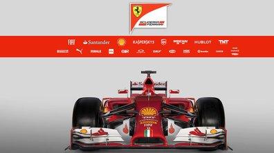 F1 2014 : Ferrari F14 T, sa présentation en images