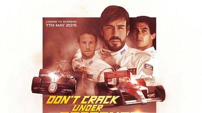 F1 : Alonso au volant de la McLaren MP4/4 de Senna