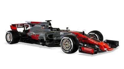 F1 2017 : Haas dévoile sa monoplace VF17