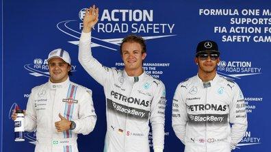 F1 - Brésil 2014 : Rosberg prive Hamilton de la pole position