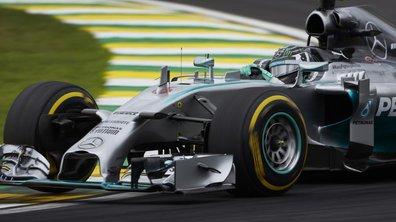 F1 - GP Brésil 2014 : Rosberg résiste sur le fil à Hamilton