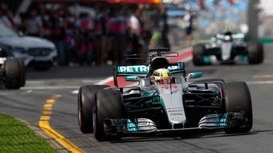 F1 - GP d'Australie 2017 : la première pole, elle est pour Hamilton !