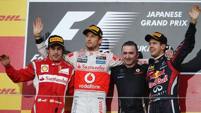 F1 GP du Japon : Le podium de Suzuka
