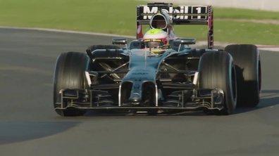 F1 : Premières images de la McLaren-Honda sur le circuit de Silverstone