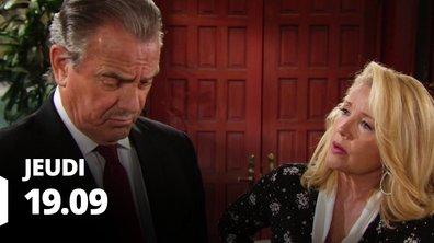 Les feux de l'amour - Episode du 19 septembre 2019