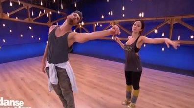 C'est l'osmose entre Fabienne Carat et son danseur