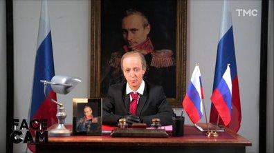 Face Cam : Camille Lellouche est Vladimir Poutine