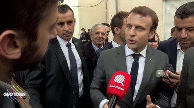 """""""Fainéants"""" : Macron ne regrette absolument pas"""