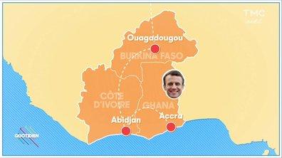 Fait du jour : Emmanuel Macron en visite en Afrique
