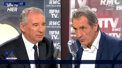 """Fait du jour : François Bayrou, """"l'invité signature"""" de Bourdin"""