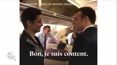 L'invitée pas si surprise du voyage tunisien d'Emmanuel Macron