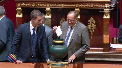 Le fait du jour : avec les p'tits nouveaux à l'Assemblée pour leur premier vote