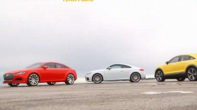 Plein Phare : La future famille Audi TT