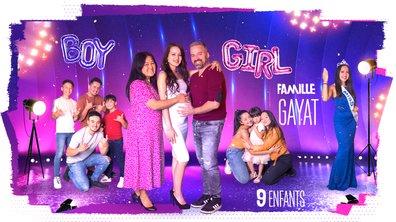 """Famille GAYAT, 9 enfants : """"Le secret de notre famille, c'est l'amour et l'humour"""""""