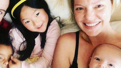Katherine Heigl dévoile un premier cliché de toute sa famille réunie