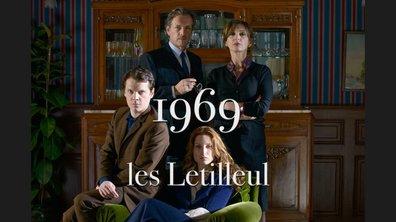 Le portrait de la famille Letilleul : 1969