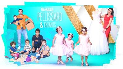 """Famille PELLISSARD, 8 enfants : """"Devenir parents, ça donne des ailes"""""""